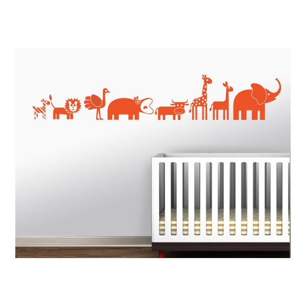 wandsticker tiere kinderzimmer elefant babyzimmer. Black Bedroom Furniture Sets. Home Design Ideas